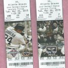 March 26 2013 Detroit Tigers VS Atlanta Braves Spring Training Ticket Miguel Cabrera Lakeland