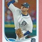 2013 Topps Baseball Series 2 Anibal Sanchez Detroit Tigers # 602