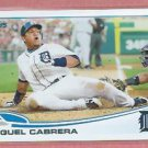 2013 Topps Baseball Series 2 Miguel Cabrera Detroit Tigers # 680