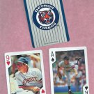 Pair 1992 US Playing Cards Frank Tanana Detroit Tigers Oddball