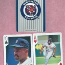 Pair 1992 US Playing Cards Cecil Fielder Detroit Tigers Oddball