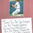 1989 Fleer Alan Trammell Detroit Tigers # 148