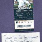 July 9 2013 Detroit Tigers Ticket Miguel Cabrera 350th Career HR.