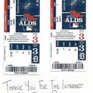 2013 Detroit Tigers ALDS Home Game 3 Phantom Ticket Oakland A's