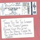 2013 Detroit Tigers Phantom World Series Ticket Game 1