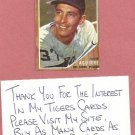 1962 Topps Hank Aguirre Detroit Tigers # 407