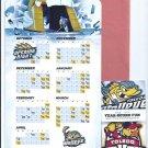 2013 2014 Toledo Walleye Magnet Hockey Schedule + Bonus ECHL