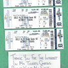 2013 ALCS Detroit Tigers All 3 Home Game Tickets Boston Red Sox Games 3 4 & 5 Home Games 1 2 3