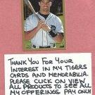 1999 Topps Brad Ausmus Detroit Tigers # 304