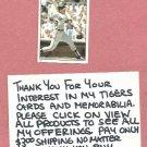 1981 Topps Sticker Lance Parrish # 73 Oddball