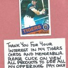 1985 Topps Dave Bergman Detroit Tigers # 368