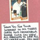 1990 Fleer Dave Bergman Detroit Tigers # 600