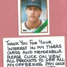 1988 Topps Dave Bergman Detroit Tigers # 289