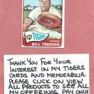 1965 Topps Bill Freehan Detroit Tigers # 390