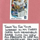 2013 Topps Update Miguel Cabrera Detroit Tigers All Star # US218