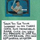 2013 Bowman Chrome Sapphire Blue Al Kaline Rookie Reprint Detroit Tigers # 23