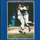 1984 Detroit Tigers Detroit News The Magic Season Book / Magazine 1984 World Series
