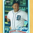 2014 Topps Chrome  Miguel Cabrera Detroit Tigers # 89TC MC