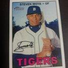 2016 Topps Heritage Steven Moya Detroit Tigers # 692 High Number Detroit Tigers