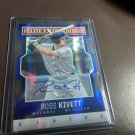 2014 Elite Extra Edition Blue Status Auto /50 Ross Kivett Detroit Tigers Rookie