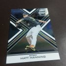2016 Elite Extra Edition Matt Manning Detroit Tigers Rookie # 9 #d /999