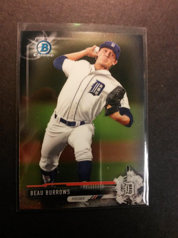 2017 Bowman Chrome Beau Burrows Detroit Tigers # BCP9
