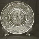 Federal Glass Heritage Crystal Dinner Plate