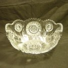 EAPG U.S. Glass 1908 Feather Swirl (Solar) Large Fruit Bowl
