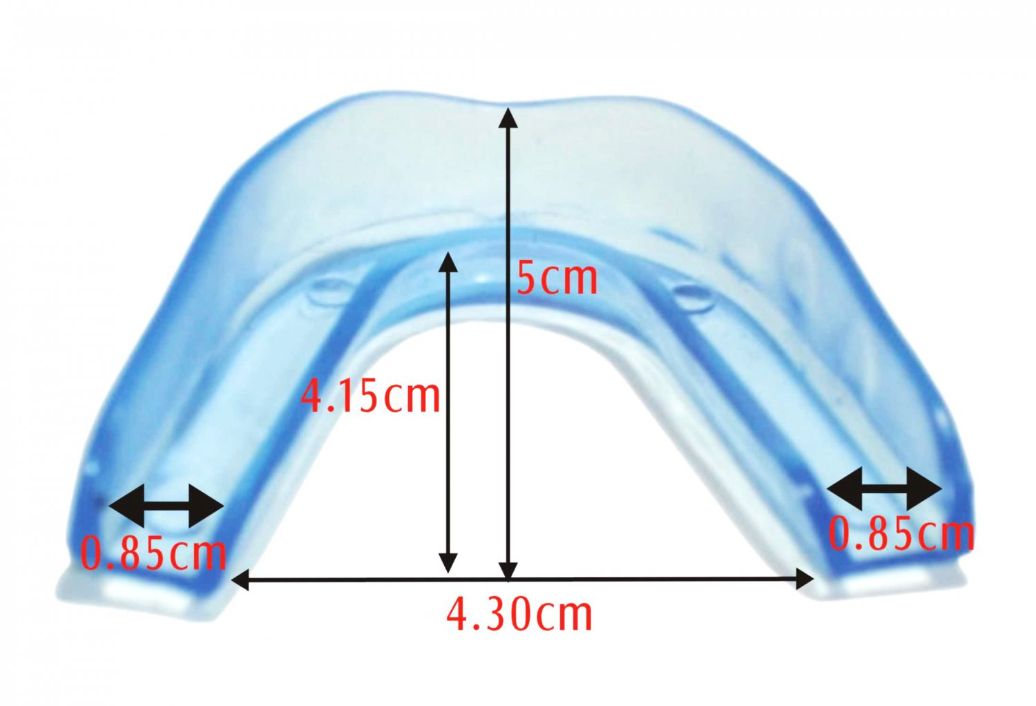 X 2 Night Teeth Grinding Mouth Guards Stop Bruxism Dental Protect Snoring TMJ Sleep Aid New