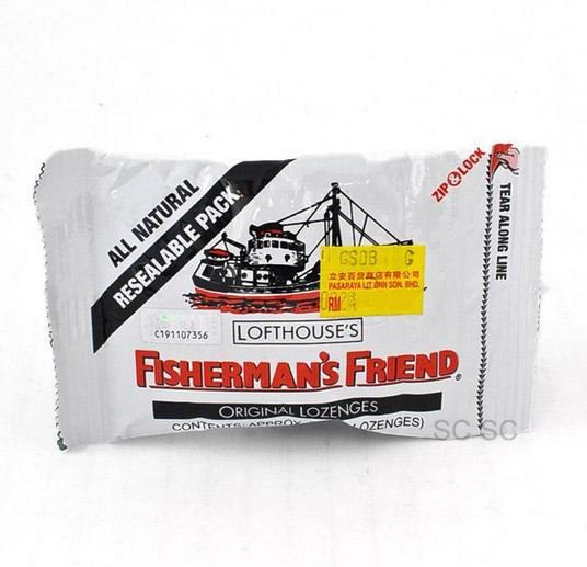 Original Lofthouse Fisherman's Friend x 4 Packs