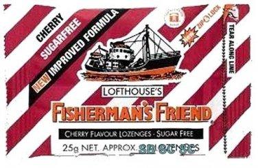 Cherry Sugar Free Lofthouse Fisherman's Friend x 4 Packs
