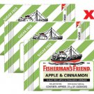 Cough Drops  Lozenges Apple & Cinnamon Sugar Free Fisherman's Friend 3 x 25g Sore Throat
