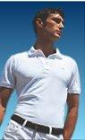 NWT Authentic Lacoste Pique Polo - Sz. 4 (SML) White