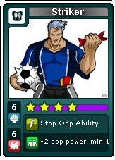 Urban Rivals - Striker - All Stars Clan