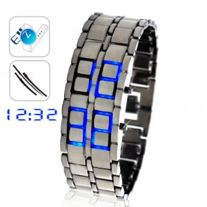 Blue LED Watch