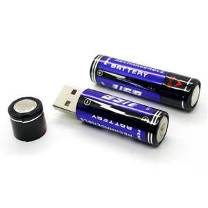 AA USB Rechargeable Battery, 2-pack