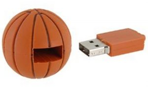 8GB Basketball USB Flash Drive