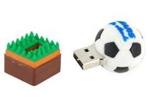 8GB Soccer/Football USB Flash Drive