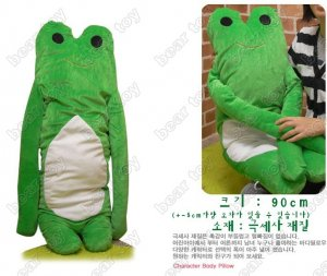 Frog  pillow&free shipping