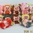 FAMILY OF LITTLE PINK PIG&FREE SHIPPING