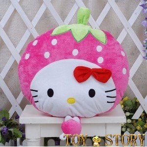 strawberry hello kity&rpink 45cm