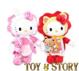 hello kitty  sisters(2 dolls) & free shipping&30-50 cm