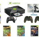 "Xbox ""Halo2 Limted Edition"" Bundle - 6 Games + 2 Wireless Controllers"