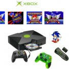 "Xbox ""Sonic The Hedgehog"" Bundle - 10 Games, 2 Controllers + DVD Kit"