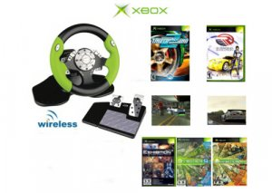 Need 4 Speed Racing Bundle - 5 Games + Wireless 2.4 Ghz Steering Wheel