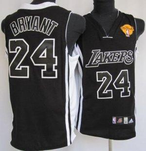 Kobe Bryant Black Finals Jersey