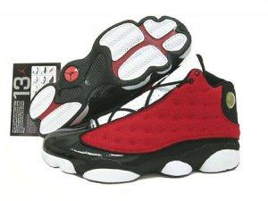 Red and Black Air Jordan XIII