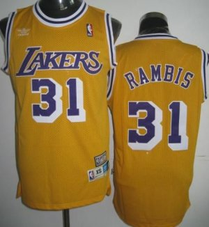 Kurt Rambis Home Jersey Rare!!!!