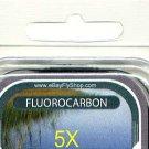 Premium 5X (5.1 Lb) Fluorocarbon Tippet Material  98 FT