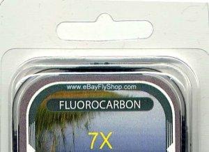 Premium 7X (2.7 Lb) Fluorocarbon Tippet Material  98 FT